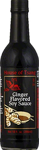 House Of Tsang Soy Sauce, Ginger Flavored Pack of 6 (Soy Ginger Sauce compare prices)