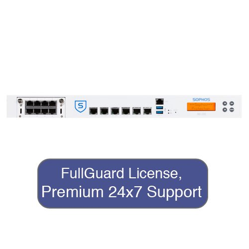 Sophos Sg 210 Security Appliance Totalprotect Bundle With 8 Ge Ports, Fullguard License, Premium 24X7 Support - 1 Year front-121742