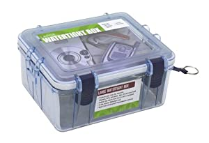 Outdoor Products Large Watertight Box (Clear)