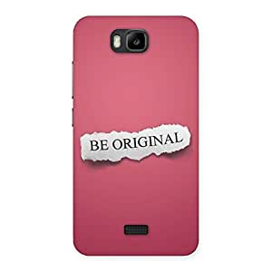 Cute Be Orignal Multicolor Back Case Cover for Honor Bee