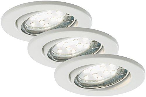 LED Einbaustrahler, Einbauleuchte, Deckenspot, LED Einbauspot, Deckeneinbauleuchte, Deckeneinbaustrahler, Einbaulampe, Einbaustrahler Set, Einbaulampen Decke, LED Einbauleuchten, schwenkbar