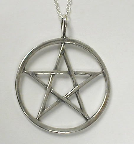 The Perfect Pentacle in Sterling Silver, For a Man or a Woman Made in America
