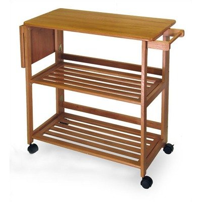 Winsome Foldable Kitchen Cart 34137