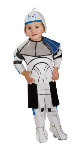 Star Wars Clone Wars Clone Trooper Toddler Captain Rex Costume