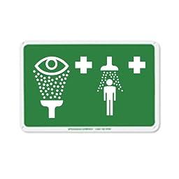 Speakman SGN3 Emergency Shower and Eyewash Sign