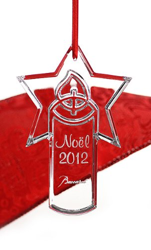 Baccarat 2012 Annual Noel Ornament, Candle