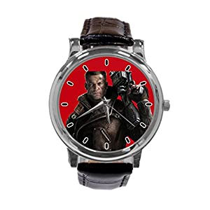 [ZhuYou] Custom Wolfenstein The New Order Fashion Design Personalized Men Women Wrist Watch Leather Band Men's Sport Watch hot!