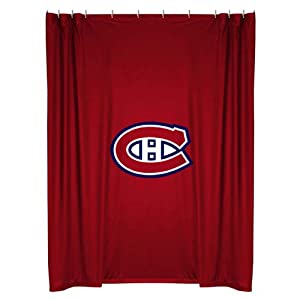 NHL Montreal Canadiens Shower Curtain