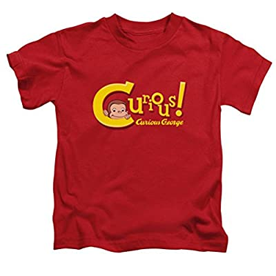 Curious George Title Juvy T-Shirt