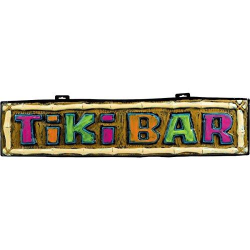 Amscan-Hawaiian-Summer-Luau-Party-Tiki-Bar-Form-Hanging-Sign-Decoration-Multi-Color-4325-x-1025