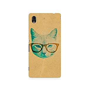 TAZindia Printed Hard Back Case Cover For Sony Xperia Z2 L50W