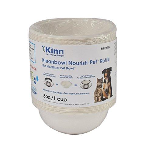 Kleanbowl Nourish Pet Refill Bowls, 8oz (1 cup) B-BRP8-A1