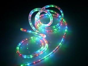 led rope light kit christmas lighting outdoor rope lighting amazon