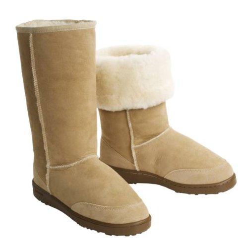 4721bc1b4a7 Very Sheepskin Boots: Acorn Sheepskin Aussie Boot - Tall (For Women)