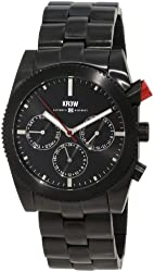 KR3W Men's K1342BLCK Redrum Black Automatic Watch