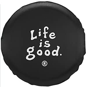 Life is Good Coin Tire Cover by Life is Good