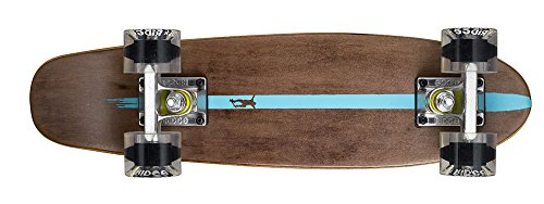 Ridge Skateboards Maple Mini Cruiser- NR2 Skateboard, Chiaro
