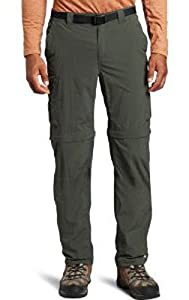 Columbia Men's Silver Ridge Convertible Pant (Extended), Gravel, 44X34
