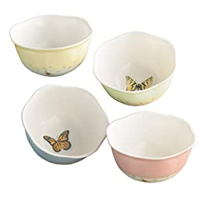Lenox Butterfly Meadow 8-Ounce Dessert Bowls Set of 4