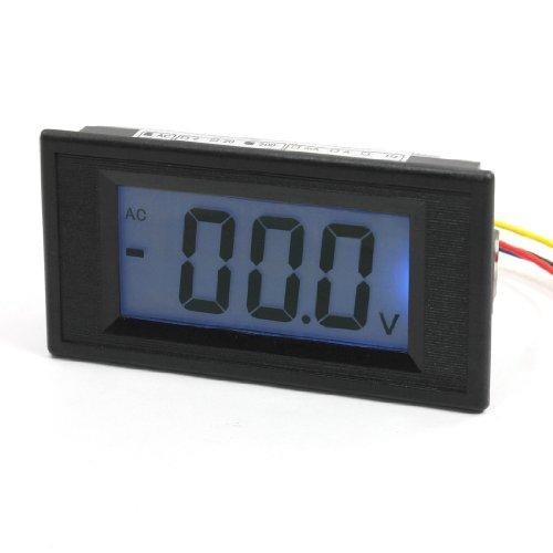 Digital Blue Lcd Display 7 Segment 3 Digits Ac 200V Voltmeter