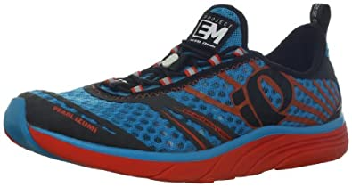 Pearl iZUMi Men's EM Tri N 2 Running Shoe,Electric Blue/Shadow,7.5 D US