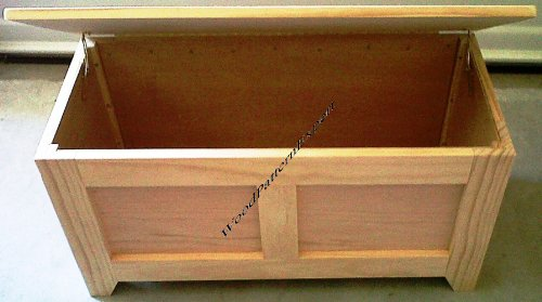 LOOK LIKE EXPERTS Build Your Own SHAKER TOY STORAGE Hope Blanket Box ...
