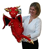 The Puppet Company - Enchanted Puppets - Red Dragon Hand Puppet
