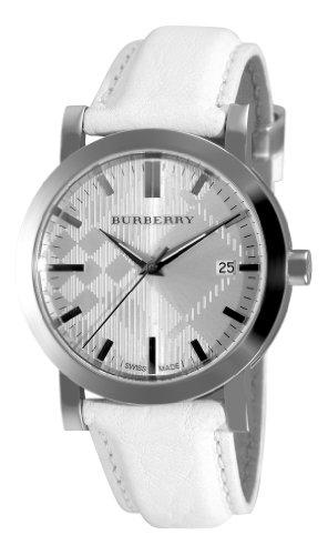 BURBERRY BU1750 - Orologio da polso da uomo, cinturino in pelle