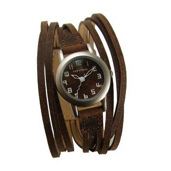 tokyobay-gaucho-watch-brown
