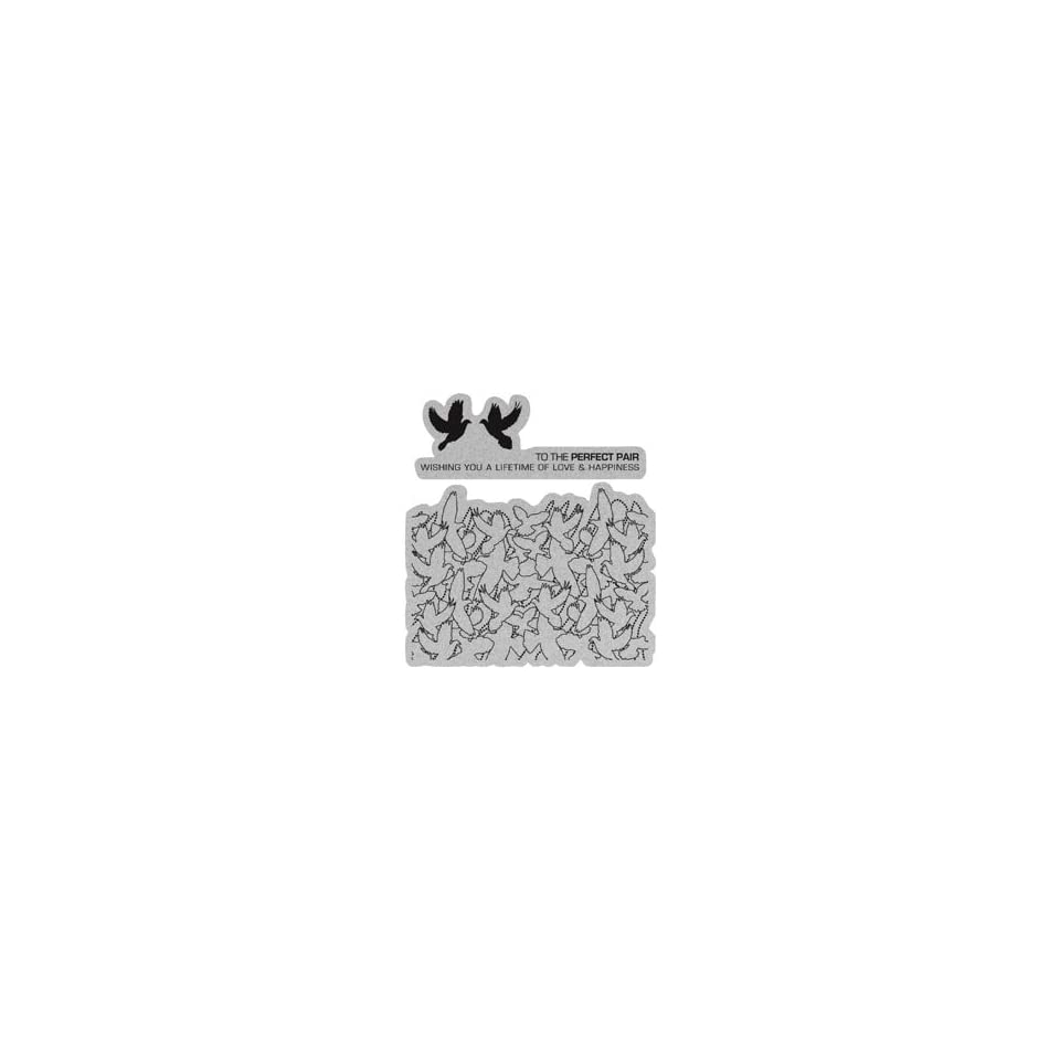 New   Penny Black Cling Rubber Stamp 4X5 by Penny Black
