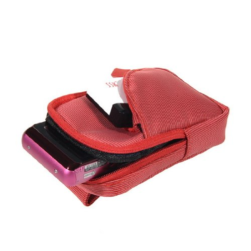 red-dc-camera-case-bag-with-carabiner-for-canon-powershot-s100-a4000is-a3400is-a3300is-a3200is-a2400