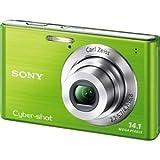 ソニー デジタルカメラ Cyber-shot W550 (1410万画素CCD/光学x4) グリーン DSC-W550/G