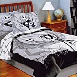 The Nightmare Before Christmas Full / Queen Comforter Set Bedding with 2 Pi ....