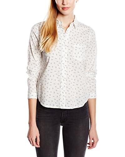 Levi's Camisa Mujer Ls Faye Shirt Azul