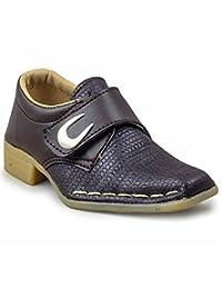 Yoyo Brown Boy's Shoes - B0180YQTGQ