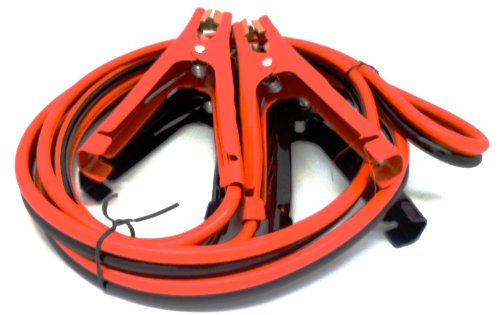 HEAVY DUTY 300 amp 8 gauge No Tangle Battery Booster cables 10 feet with FREE travel case Jumper Cables Extra long 10ft