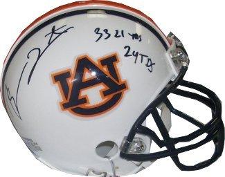 Ben Tate signed Auburn Tigers Replica Mini Helmet 3321 YDS
