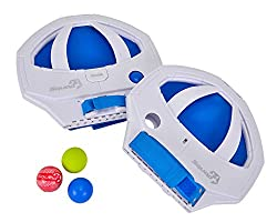 Simba Squap 2 Plastic Catch Ball Game, Blue