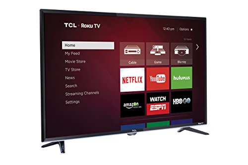 TCL  32-Inch 720p Smart LED TV.