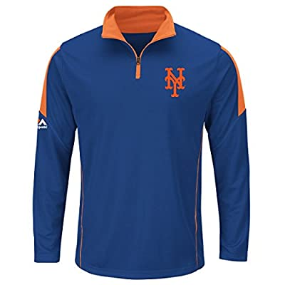 Men's Majestic New York Mets Status Inquiry Program Top