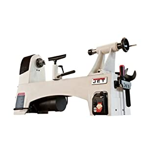 JET JWL-1221VS 12-Inch by 21-Inch Variable Speed Wood Lathe by WMH Tool Group