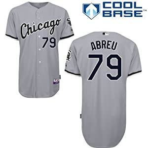 Jose Abreu Chicago White Sox Road Authentic Cool Base Jersey by Majestic by Majestic