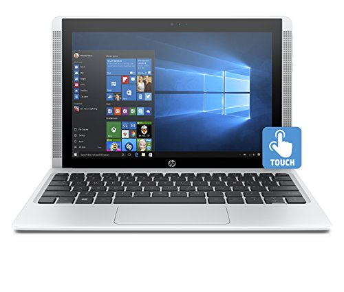 HP Pavilion x2 10-n106nl Notebook Convertibile 2 in 1, Windows 10, Processore Intel Atom Z8300, RAM 2 GB, eMMC da 32 GB, Intel Graphics HD, Bianco