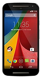 Motorola Moto G (2nd Generation) - Black - 8 GB - Global GSM  Unlocked Phone