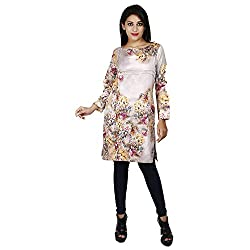 LALANA Multicolor Floral Print Cotton Dress