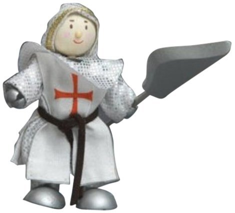 Le Toy Van : Budkins : Knight Crusader Knight William by Le Toy Van
