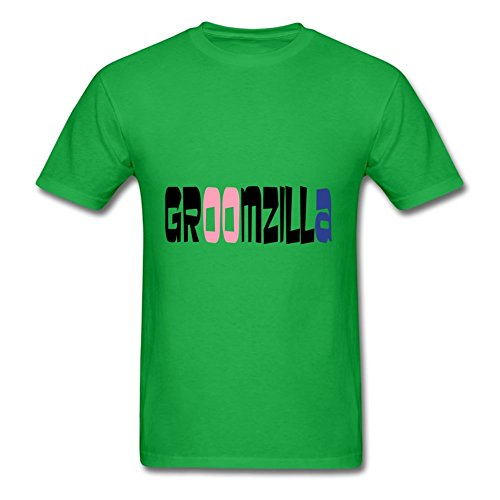 Speacial Fashionalble Personalized Shirts Cotton Groomzilla Xxx-large Men Green
