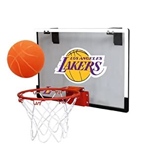 NBA Game On Indoor Basketball Hoop & Ball Set by Licensed Products
