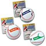 Champro Slider Pitcher Training Baseball (White, 9-Inch)