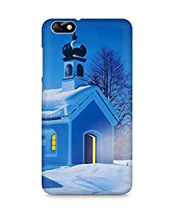 AMEZ Winter Christmas Back Cover For Huawei Honor 4X